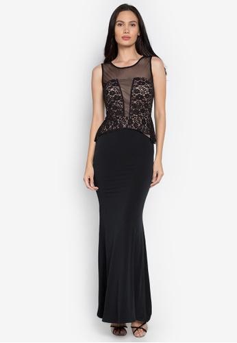 Rated E Fashion black Perlita Dress RA951AA0KNLTPH_1