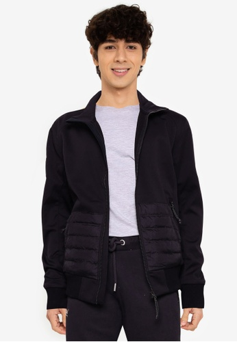 Superdry 黑色 Bonded Soft Shell 外套 - Superdry Code AC7EDAAFE4D8AAGS_1