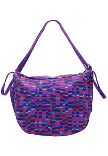 STRAWBERRY QUEEN purple and multi Two-Way Weekender - Joyous (Dark Purple) 02DBDAC982A627GS_1
