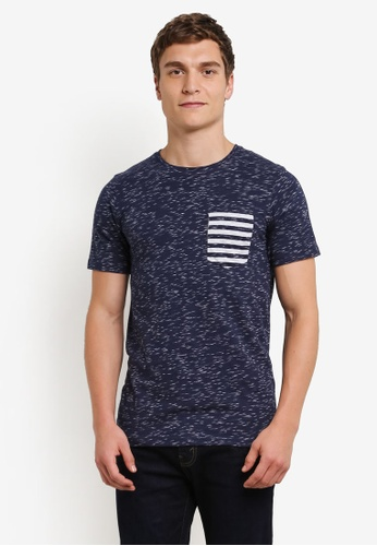 Jack & Jones blue Fury Tee JA987AA0S5OBMY_1