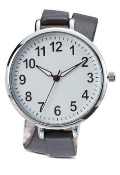 Double Wrap Skinny Strap Watch