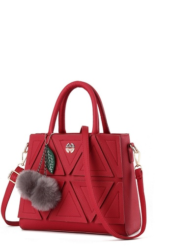 TCWK red TCWK Korea Style Red Ladies Handbag TC258AC0RQ8IMY_1