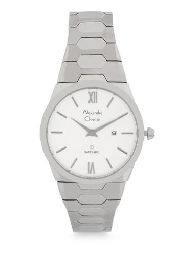 Alexandre Christie silver Alexandre Christie Jam Tangan Wanita - Silver White - Stainless Steel - 8542 LDBSSSL  5B4BEAC2C90E15GS_1