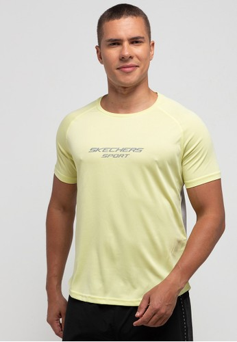 Skechers yellow Men Mx Tee F0CC6AA843858EGS_1