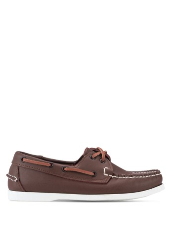 經典雙眼仿皮船型鞋, 鞋, 船型zalora鞋鞋