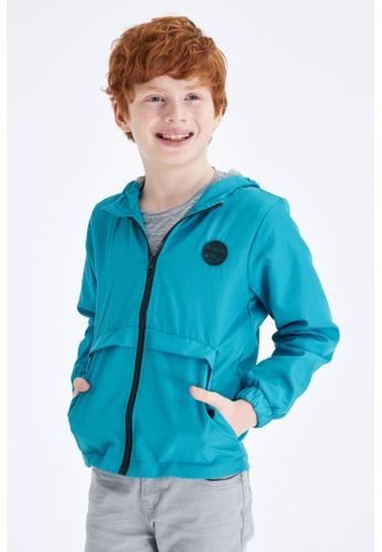 DeFacto green Boy Outer Wear Raincoat 43C47KA486F14BGS_1