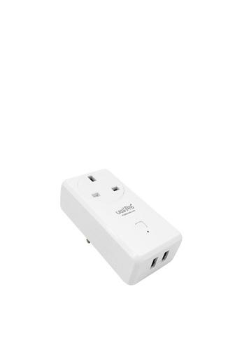 UKGPro UKG智能WiFi無線USB插座(1AC+2USB),新型智能插頭智慧插座外置智能插頭無線智能家居排程萬能插英式插頭遠端遙控開關電視風扇抽濕機語音傳統手動Smart USB Plug(USP-S220-UK) 99A94HLCE5532BGS_1