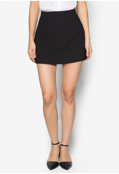 Love Slant Pocket Mini Skirt