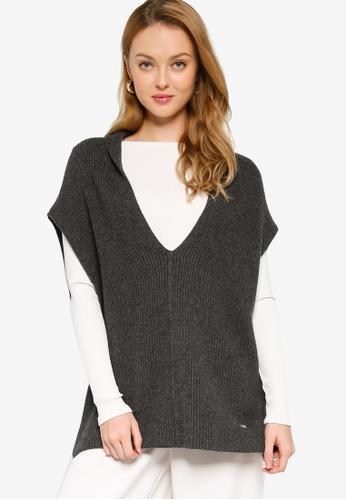 Ferragamo grey Knit Sweater (zt) F4EB5AAE91792DGS_1