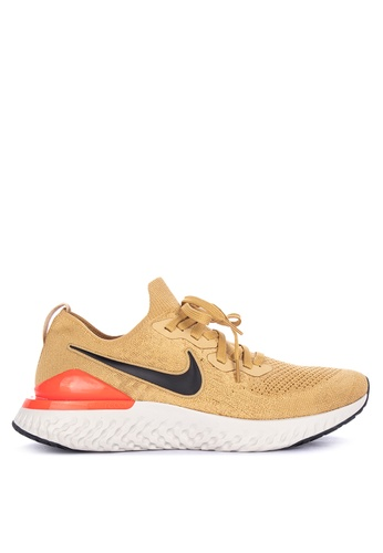 eedf446da208e Shop Nike Nike Epic React Flyknit 2 Shoes Online on ZALORA Philippines