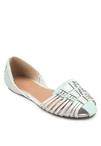 Hola Huaracesprit 童裝he 多帶交織平底鞋, 女鞋, 鞋