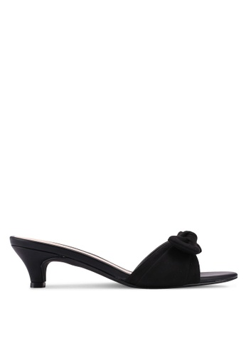 VINCCI black Slip On Heels 01B90SHC4A83B3GS_1