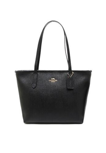 Coach black COACH ZIP TOP TOTE BAGS (83857) - IM/Black A550EAC6C80F2EGS_1