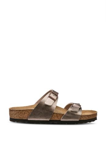 Birkenstock 褐色 Sydney Graceful Sandals 91F0BSH8CA2DA7GS_1