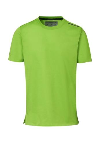 Porsche Design PUMA x Porsche Design Green Men's T-Shirt Essential Tee in Lime Green for Men DBB01AAC82561FGS_1