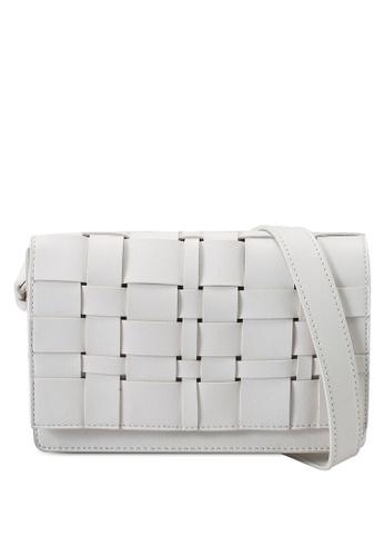 Keddo white Saba Sling Bag E4B2BAC062EC83GS_1
