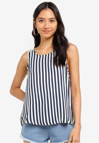 Cotton On navy Ella Tank Top 91DF7AAFC1E854GS_1