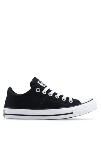 1aba0658b9afe2 Converse black Chuck Taylor All Star Madison True Faves Ox Sneakers  3C2EESHC94873AGS 1