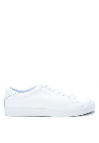 Nike white Men's Nike All Court 2 Low Leather Shoes NI126SH0K8C0PH_1
