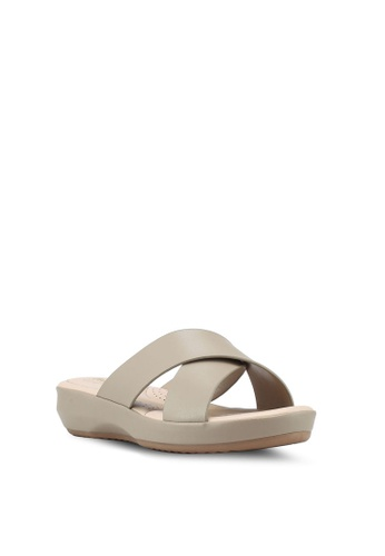 Slide On Wedge Sandals