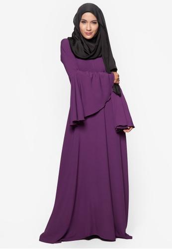 Amar Amran purple Jubah Rania AM362AA23BTWMY_1