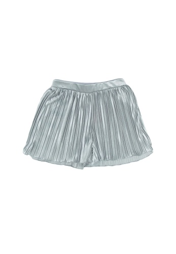 FOX Kids & Baby silver Pleated Shorts 4DF63KAD903207GS_1
