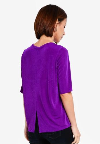 Y.A.S purple YASMEMI TEE B62ECAA22E28C5GS_1