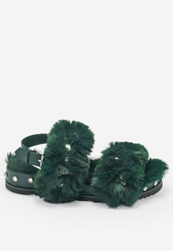 ASH 綠色 Ubu - 綠色涼鞋 C4001SH1005090GS_1