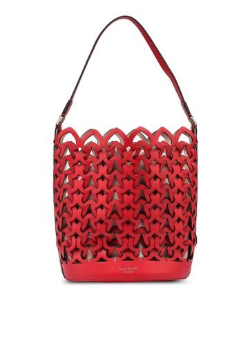kate spade new york red Dorie Medium Bucket Bag (cv) 5C30FACEB5E161GS_1