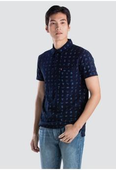 018fbc0dd3de Levi s blue Levi s Sunset Polo Shirt D3864AA03883F7GS 1