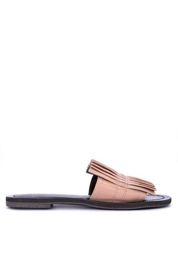 Penshoppe pink Slip on Sandals 83572SH817E2ACGS_1