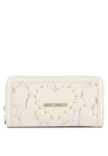 Love Moschino white Portafogli Wallet LO478AC0SEKTMY_1