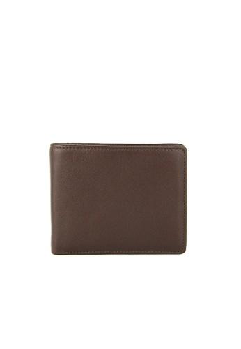 Alef brown Alef Colson Ultra Slim Bifold Wallet in Brown 34D5AACD00FCEBGS_1