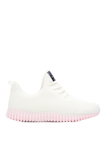Life8 pink and beige Sport Mixed Shose Sneakers-09653-Beige&Pink LI286SH0RM0GMY_1