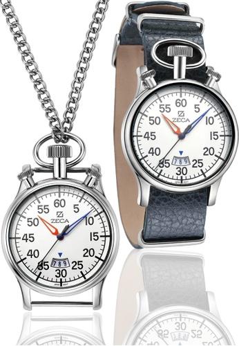 ZECA blue Zeca Watches Men Fashion Leather Analog - 209M Blue ZE260AC26SYRSG_1