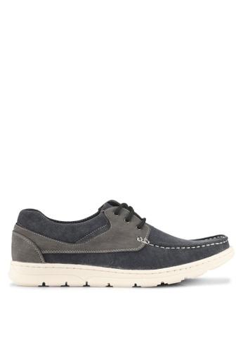 Rocklander black Boat Shoes 1741ASHDD7A245GS_1