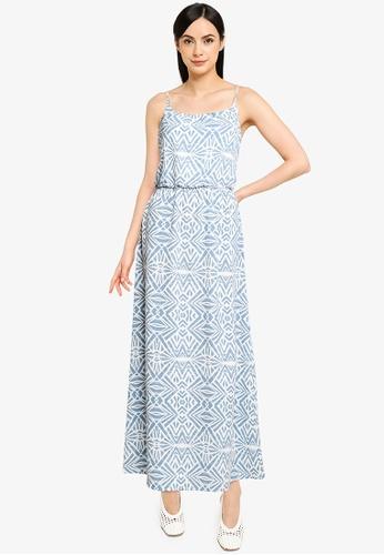 ONLY white Nova Lux Strap Maxi Dress 2AFCFAABD0C219GS_1