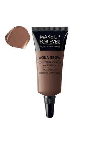 MAKE UP FOR EVER brown AQUA BROW - Waterproof Eyebrow Corrector #20 4C759BE42816A1GS_1