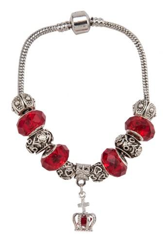 皇冠吊飾寶esprit台灣官網石刻紋手環, 飾品配件, 手鐲 & 手環