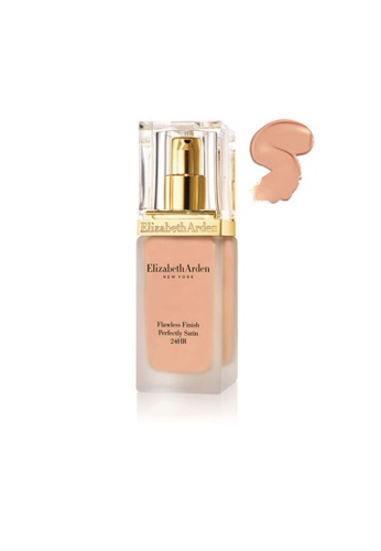Elizabeth Arden beige Flawless Finish Perfectly Satin 24HR Makeup Cream Nude 813DABE033243EGS_1