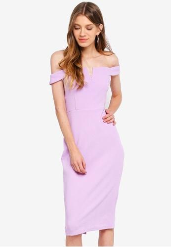 Shop AX Paris Bardot Bodycon Dress Online on ZALORA Philippines a3e27217d