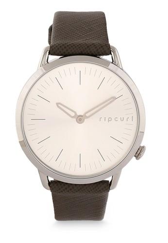 Rip Curl brown Super Slim Leather Watch 08C86AC9F07A9BGS_1
