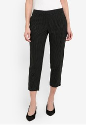 Dorothy Perkins black Petite Black Spot Trousers DO816AA0RQUOMY_1
