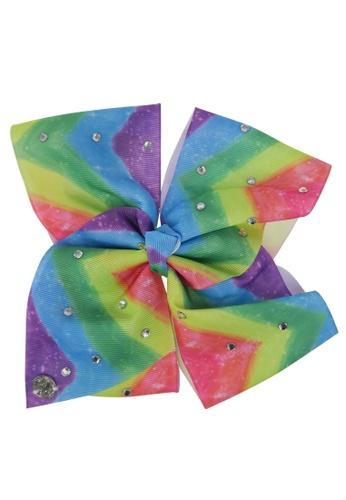 Jojo Siwa Jojo Siwa Bow With Clip (Rainbow Tie Rhinestone) 610E4KC06B2C8DGS_1