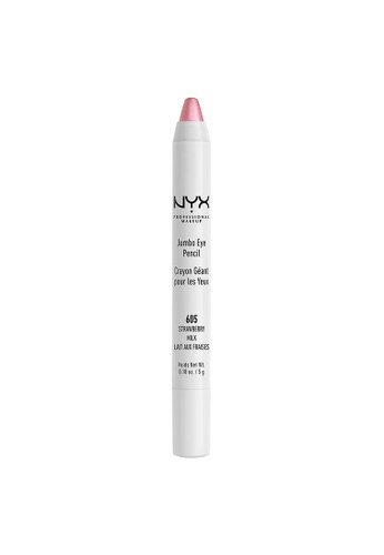 NYX Professional Makeup pink NYX Professional Makeup Jumbo Eye Pencil -  STRAWBERRY MILK AE1ACBE2ED1F27GS_1