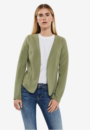 Vero Moda green Enola Long Sleeve Blazer AFC2DAAE1148F0GS_1