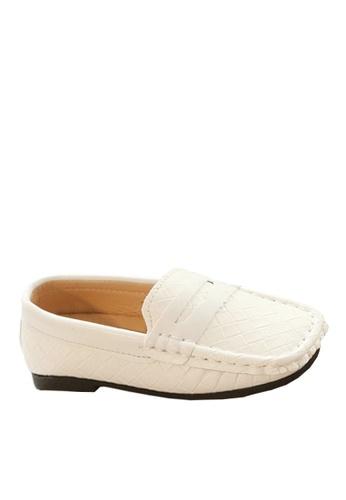 Twenty Eight Shoes 白色 VANSA  織面平底鞋  VSK-F352 A0AC2KSF1E6203GS_1