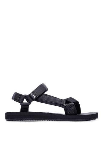 Life8 black Men and Women Breathable Casual Sandals -09695-Black LI283SH0FTRFSG_1