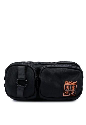 361° black Cross Training Waist Bag C7931AC40032D0GS_1