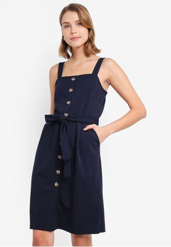 3a072b5d647 Buy Vero Moda Mille Button Dress   ZALORA HK